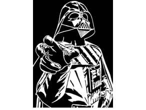 Darth Vader stencil 5