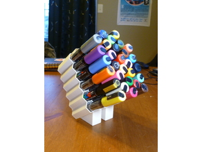 POSCA paint marker holder with stand