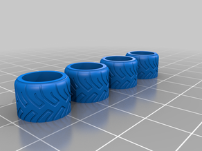 Custom Aftermarket Wheels for 1/64 Scale Diecast Vehicles