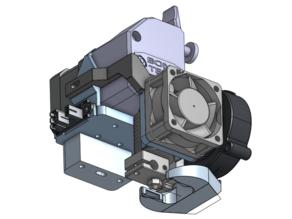 UNI - direct BMG + E3D V6 hotend mount