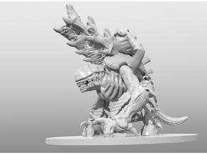Biovorous Creatcha-chew Ballistic Animal of the Grimdark Future