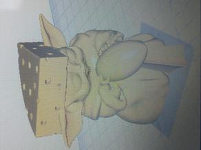 Baby Yoda Cheesehead
