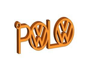 Polo Keychain