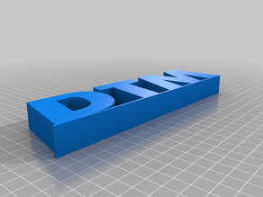 DTM Logo Scale 1:32
