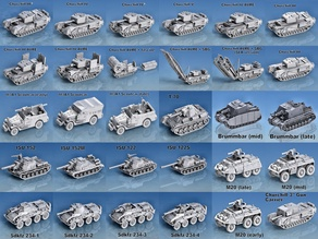 1-100 Tanks and Vehicles