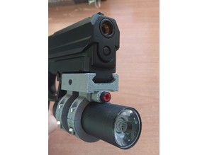 Airsoft Tactical Light - Picatinny Rail