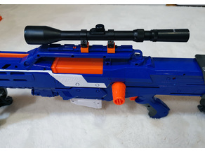 Nerf to 11 mm Weaver Picatinny adapter