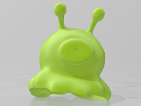 Brain Slug for Halloween!