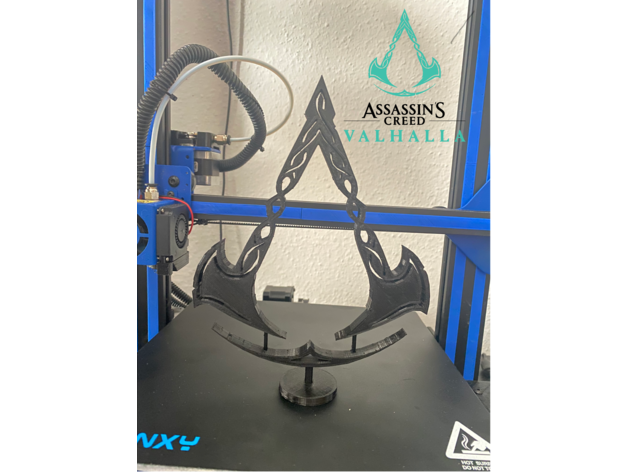 Assassin S Creed Valhalla Logo By Gonscholes Thingiverse