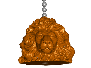 Lion Pull Ball Chain, Keychain Knob | Handle | Fob | Finials