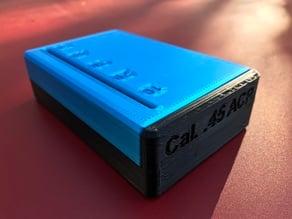 Easy to print Ammo Box (multiple calibers)