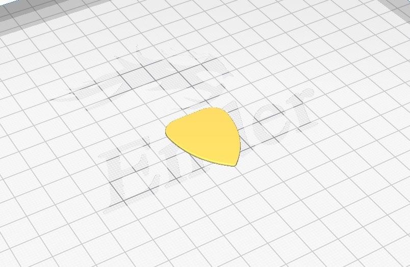 1mm Guitar pick