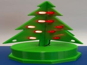 Strom 3D na vánoce