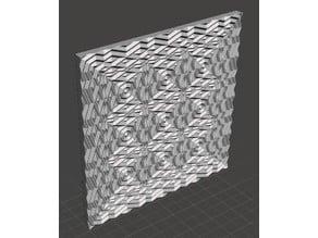 Diamond Cross Panel Tile