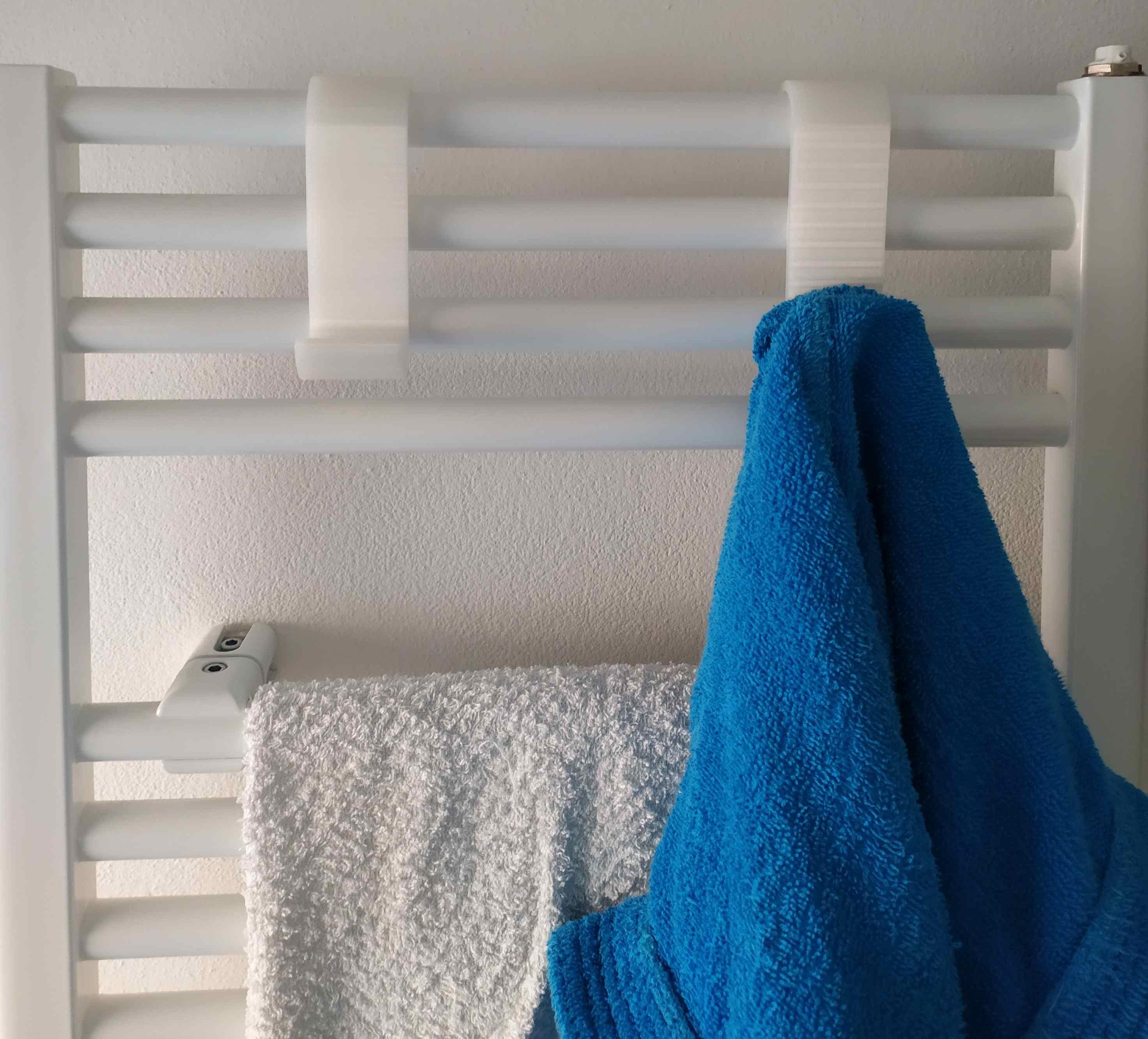 hook for radiator to hang bathrobe