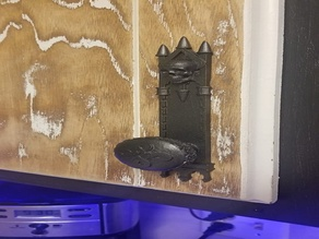 Gothic Cabinet Door Knob