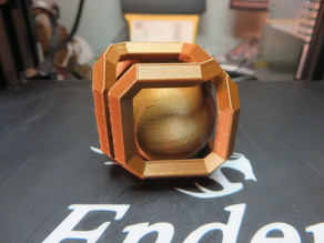 Ball In Infinity Cube