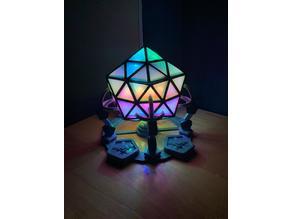 Icosahedron Desk Light