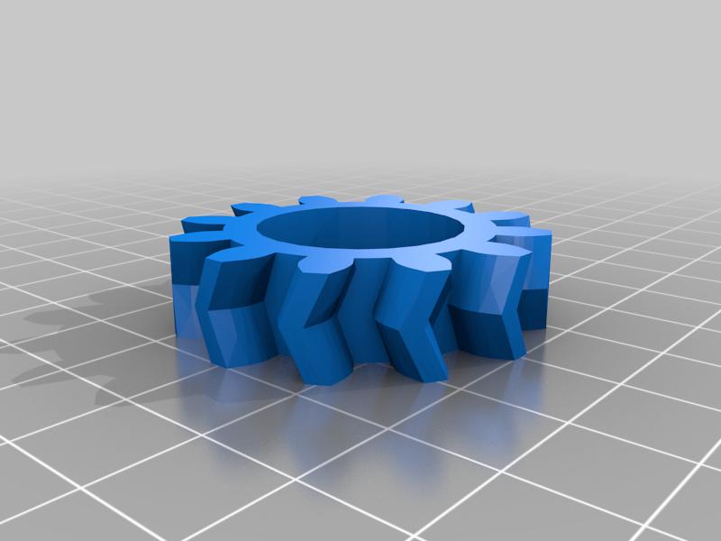Double helix planetary gear