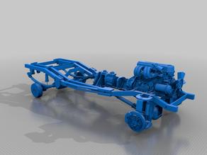 Frame 22RE engine