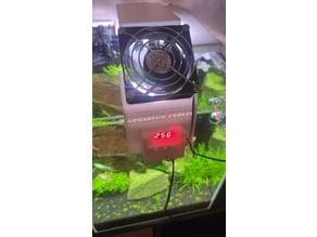 Aquarium cooler thermostat