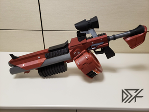 Borderlands Bandit Room Clener Shotgun