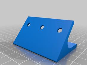 My Customized Parametric Angle Brackets 50degX60