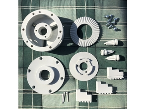 Dreibackenfutter / Three-jaw chuck
