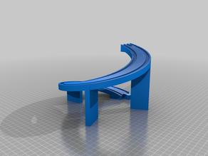 Wooden Track Spiral