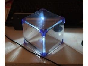 CUBIC holder for 3 mm Plexiglass