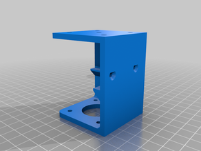 Polargraph Stepper Motor mount