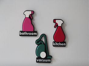 Household chores planning magnets2