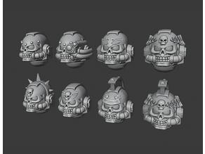 Angry Priest Helmets