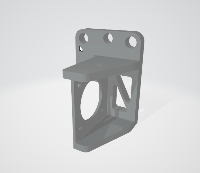Ender 3 Direct Drive Adapter Plate