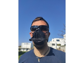 Darth Vader Remix 4 Covid-19 Mask V2