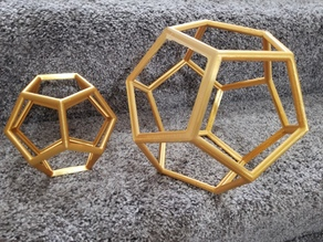 Dodecahedron  WireFrame