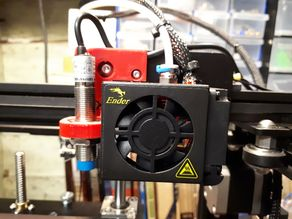 Geoffs Ender 3/5 Auto Level Bracket - Inductive Sensor