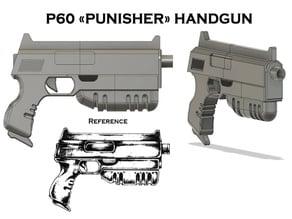P60 Punisher Handgun (Mutant Chronicles RPG)