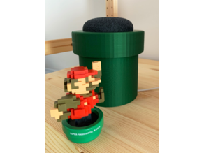 Google Mini - Mario warp pipe edition