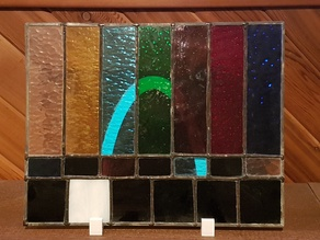 Stained Glass/Picture Stand