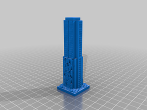 GreebleCity Ruins: Skyscraper XII