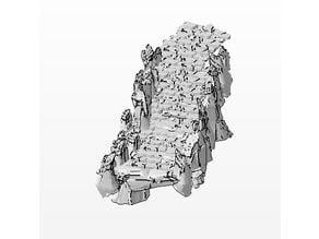 modular stone path and stairs - terrain