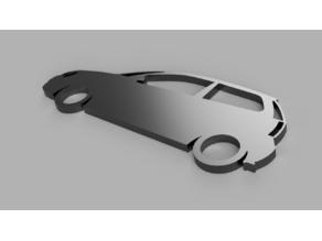 VW Polo 9N Key Fob