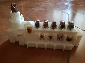 Cathedral Thimble collection stand