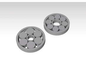Print-In-Place roller bearing (x6 & x8)
