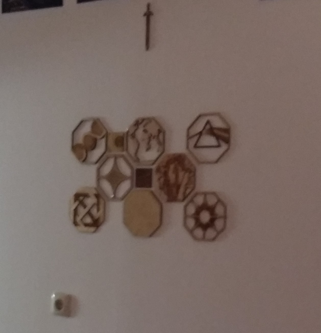 Lasercut Octagon Wall Art