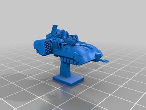 Galactic Crusaders - Anti Gravity Speeder - 6-8mm