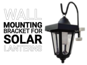 Wall Mounting Bracket For Solar Lanters