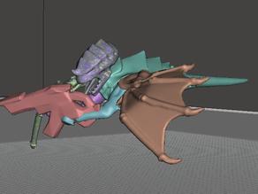 Flying Space Bug