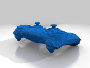 Low Poly Ps4 Controller